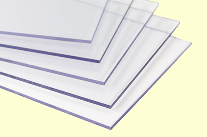 Screens, large polycarbonate sheets