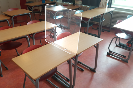 Screens, school table model