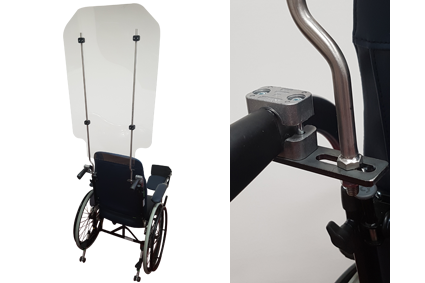 Screens, wheelchair model