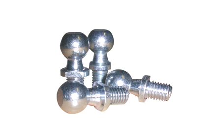 Ball for angle joint, C16-M10, form C, DIN 71805, sink plated